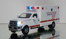 Chicago Fire Department Emergency Medical Service FORD F350 1/48 DIECAST