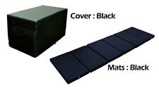 MULTI PURPOSE MAGIC BOX CUSHION FOLDABLE PLAY MATS FOR BABY TODDLER BLACK COLOR
