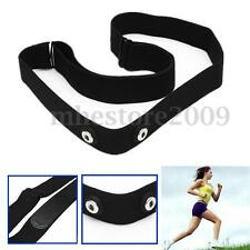 Hot Adjustable Chest Belt Strap For Garmin Wahoo Polar Sport Heart Rate Monitor