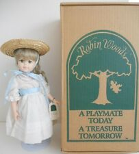 """New Robin Woods """"Chelsea"""", 14"""" Vinyl Doll w/original box and tags"""