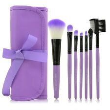 Make up brush set 7pcs toiletry kit brush set case