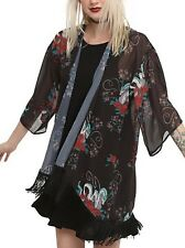 Studio Ghibli Spirited Away Dragon Haku Sheer Kimono Size XS New With Tags!