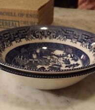 Churchill England Willow Heritage Mint LTD. Collectibles 2 Fruit Cereal Bowls