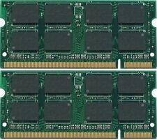 4GB (2X2GB) MEMORY FOR DELL PRECISION M2300 M6300 M4300 M65 M90