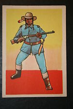 US Cavalry Indian Scout     Large Historic Uniform Card
