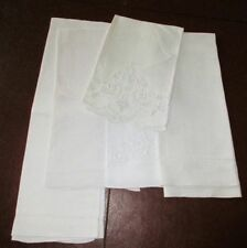 Lot of 5 Fancy Vintage Linen Guest/Bath Towels