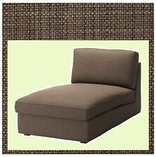 IKEA Kivik Chaise Lounge Chair Sofa Section Cover Isunda Brown Slipcover SEALED