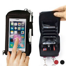 Hot Touch Wallet Purse Case Card Holder Cover For Smartphone iphone Mobile Phone