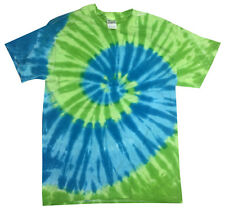 Pick a Green Tie Dye T-Shirt S M L XL 2XL 3XL 4XL 5XL Cotton Colortone-Gildan