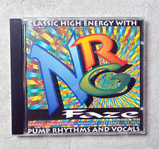 CD AUDIO/ NRG FAZE CLASSIC HIGH ENERGY WITH PUMP RHYTHMS AND VOCALS  8T 1994