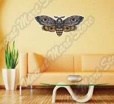"""Butterfly Bee Wasp Skull Insect Wing Wall Sticker Room Interior Decor 25""""X16"""""""