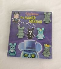 DISNEY PARKS HAUNTED MANSION VINYLMATION PINS MYSTERY BOOSTER 7 PIN PACK - NEW