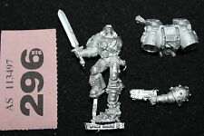 Warhammer 40k Space Marines Vanguard Veteran Metal Games Workshop Assault M845
