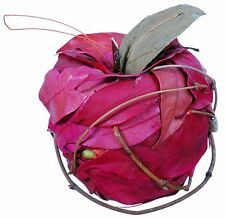 Leaf Apple Ornaments Natural Country Rustic Fruit Craft Floral Decor Filler 361x