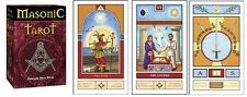 Masonic Tarot NEW Sealed 78 cards Instruction book P. Silva Alchemy elements