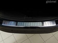 VOLVO v60 2010-.. Chrome Bumper Sill Protector Trim , Cover Stainless, pl