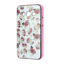 Jacquard Floreale PC+TPU Custodia Cover For Samsung Galaxy Core II 2 G355H