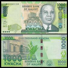 Malawi 1000 Kwacha, 2016, P-New, UNC