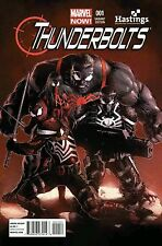 THUNDERBOLTS #1 RARE MIKE DEODATO HASTINGS VENOM VARIANT NM DEADPOOL