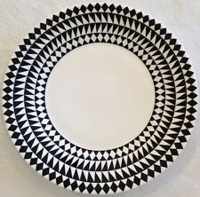 JASPER CONRAN at WEDGWOOD MOSAIC 23cm ACCENT PLATE - BLACK - NEW