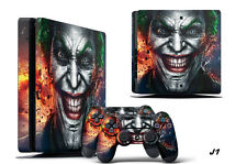 Decal Skin Wrap For PS4 Slim Playstation 4 SLIM Console & Controller Sticke