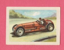 Springfield Welding Special 1954 Car Jacques Chocolate Card from Belgium #134