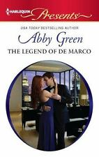 Harlequin Presents: The Legend of de Marco 3092 by Abby Green (2012, Paperback)