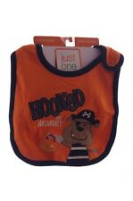 Baby boys infant Pirate Halloween Costume Accessory Bib Hooked on Mommy NEW