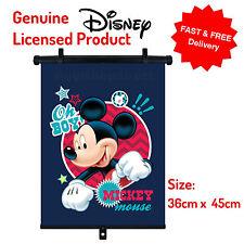 Disney Mickey Car Window Roller Blind Sunshade Children Kids Baby Boy Girl S06