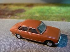 1/87 Brekina Peugeot 504 Coupé brun orange SAI 2084 SoMo