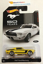 1967 Ford Mustang YELLOW * 50 Years Mustang * Hot Wheels * Z20
