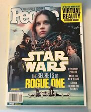 PEOPLE Magazine STAR WARS The Secrets of Rogue One BRAND NEW IN COLTR SLEEVE