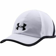 NEW UNDER ARMOUR Heat Gear Shadow Running Hat Cap men white 1257748