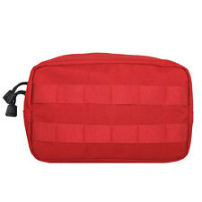 NEW - Tactical Military Recon Modular MOLLE Utility Gear Pouch - EMS MEDIC RED