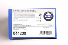 New Genuine Fargo C30e C30 DTC300 Full Color YMCKO Ribbon 44200 - 250 Prints