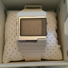 Authentic Diesel Digital Men's White Watch DZ-7130 with Box Excellent