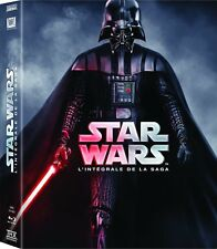 COFFRET 9BLU RAY ** STAR WARS **L'INTEGRALE DE LA SERIE NEUF