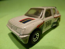 MATCHBOX 1:55 PEUGEOT 205 TURBO 16  - RARE SELTEN - GOOD CONDITION