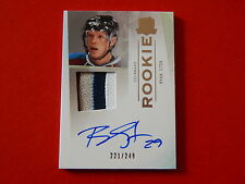 RYAN STOA   09-10 THE CUP ROOKIE AUTO PATCH RYAN STOA