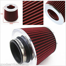 """Red Mushroom Shape 3"""" High Flow Vehicles Cold Air Intake Turbo Filter Hose Tool"""