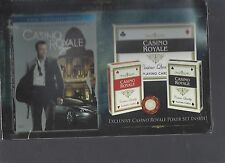 CASINO ROYALE EXCLUSIVE JAMES BOND 2-DISC LIMITED EDITION WITH POKER SET NEW DVD