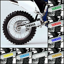 2x YAMAHA Swingarm Decal Sticker Graphic OEM Style WR250F WR450F WRF YZF 250 450
