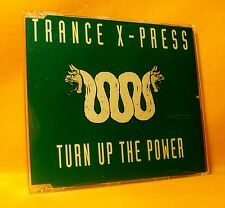 MAXI Single CD Trance X-Press Turn Up The Power 4TR 1994 Trance, Euro House