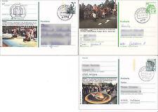 3 Bildpostkarten Int. Wettbewerb der Straßenmaler in Geldern