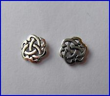 Pair Of Sterling Silver  925  Celtic  Knot  Ear Studs  !!          New  !!