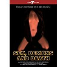 SEX, DEMONS AND DEATH (DVD, 2011, Italian) New / Factory Sealed / Free Shipping