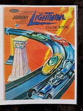 REPRINT Johnny  Lightning Topper COLORING BOOK COVER TOPPER JOHNNY LIGHTNING