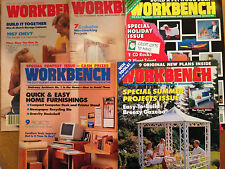 WORKBENCH MAGAZINE (1990 - 1994) 5 Issues Make Gazebo Toys Furnishings Kitchen