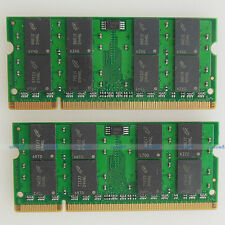 4GB 2x2GB PC2-6400 DDR2-800 800Mhz 200pin 800 Laptop Memory Notebook SODIMM RAM