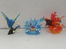 3X Figure Lot -Charizard-Blastoise-Blue Mega Gyarados XY NEW Collection Pokemon